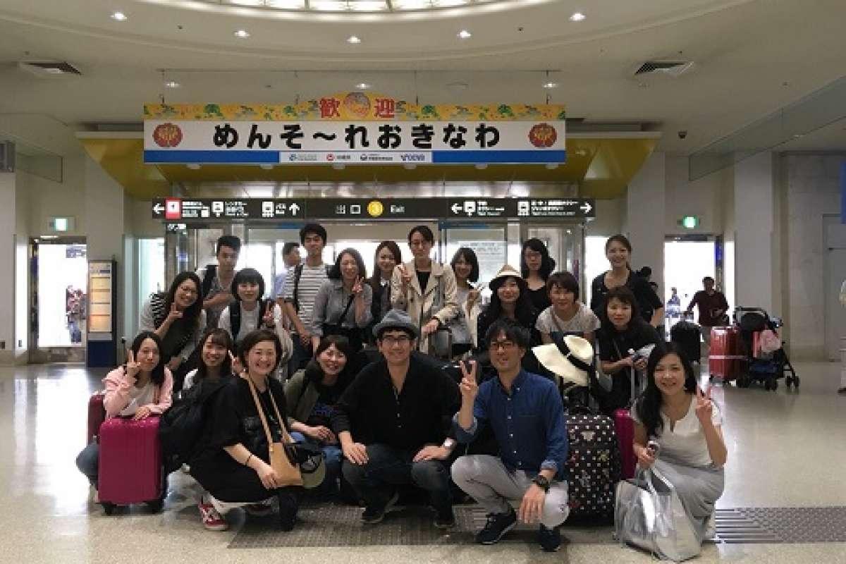 【2018年5月 社員旅行 in沖縄♪】   クリニック開院10周年のお祝いで沖縄旅行へ。