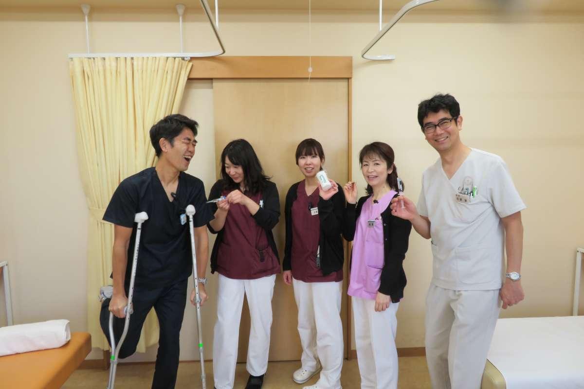 【診察室スタッフ】どんな時も抜群のチームワークで乗り越えます!