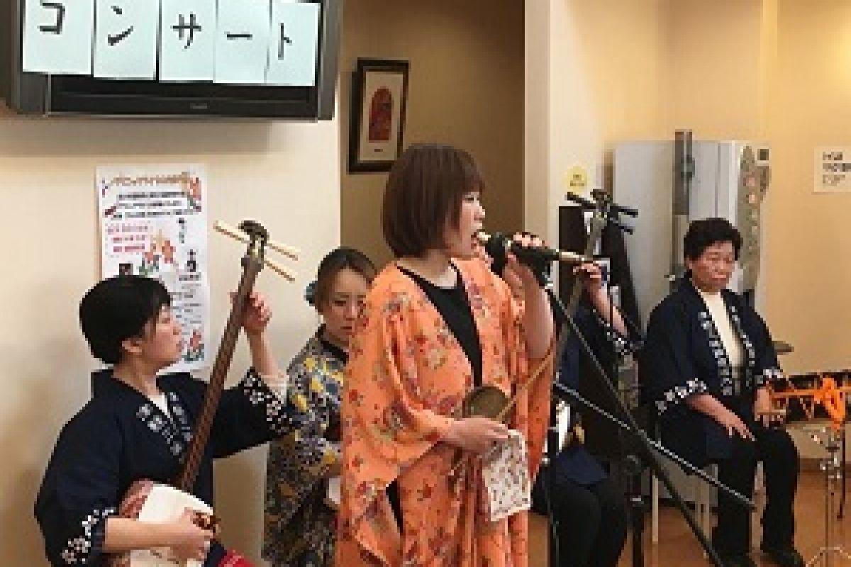 【2019年3月 民謡コンサート】待合室でライブもおこないます。患者さんからも好評です♪