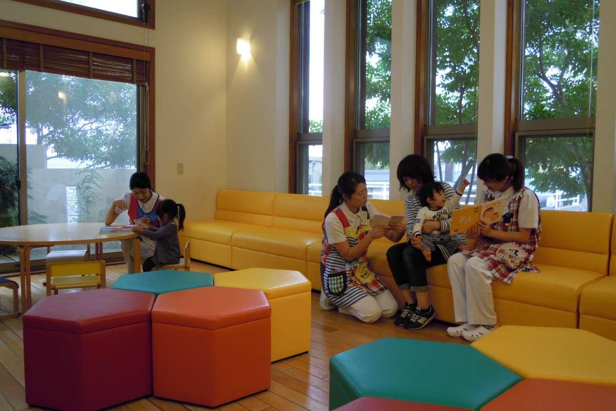 小児科待合室で