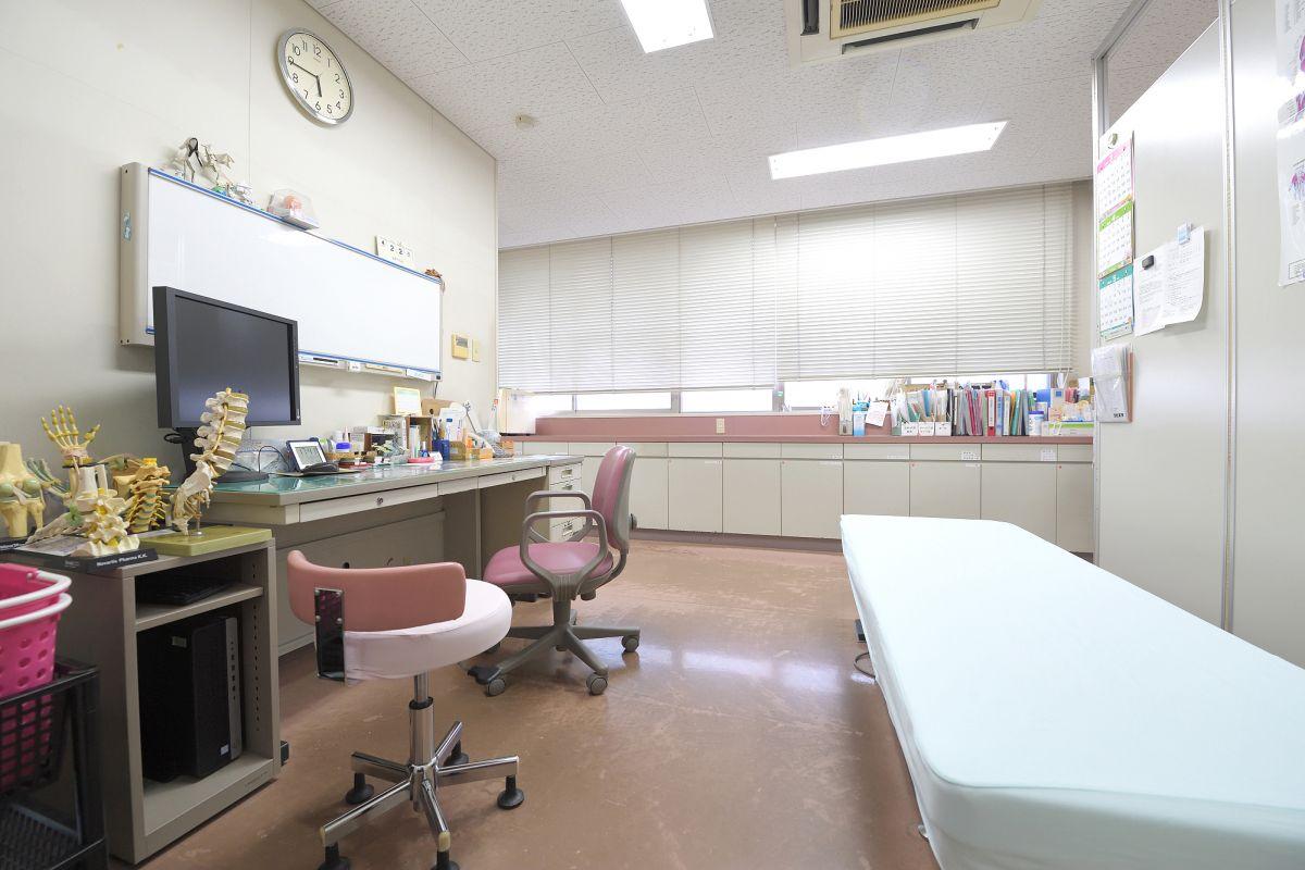 ゆったりとした診察室
